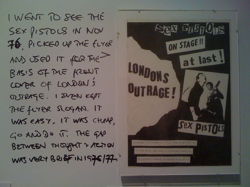 London's Outrage Sex Pistols cover