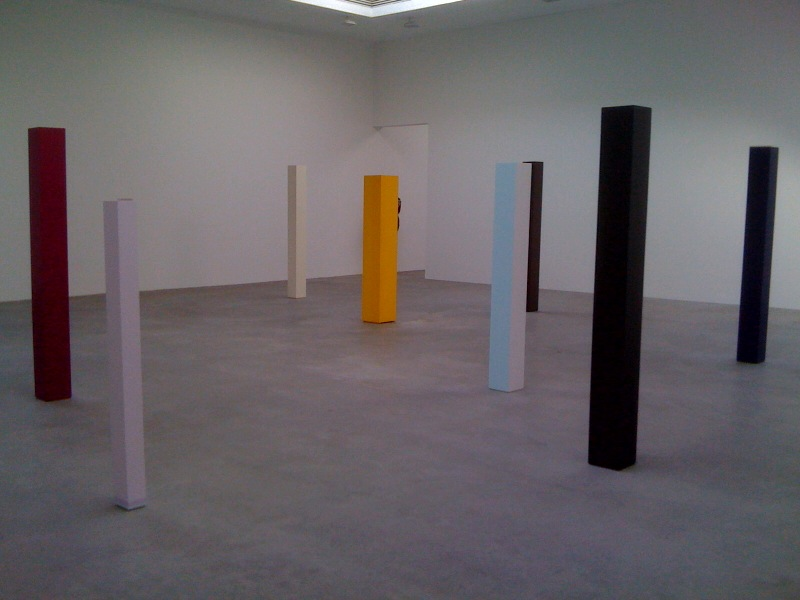 Installation view, front