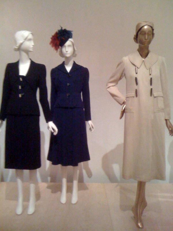 Schiaparelli_Suit, 1939, Suit, 1937, Hat, Winter 1936-7, Coat, 1932-5