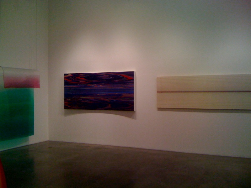 Craig Kauffman, Untitled, 1969, Andy Moses, Zabriskie, 2010, Brian Wills, Untitled, 2010