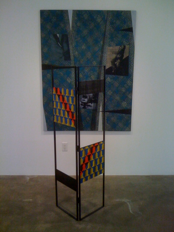 Melissa Gordon, Heraldic Construction II, 2009, Climax Point, 2009