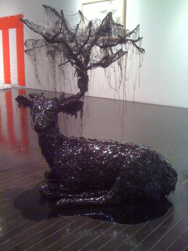 Hong Seon Jang, Black Deer, 2008