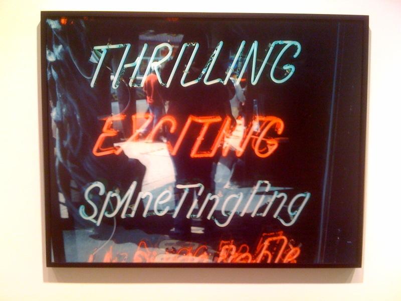 Lisa Kereszi, Thrilling, Neon Sign, Niagra Falls, Canada, 2005