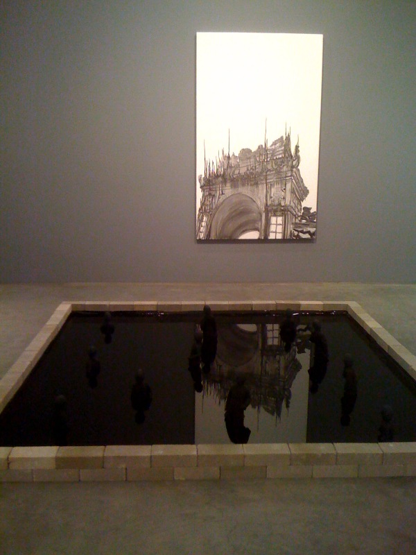 J. Ivcevich, Untitled (Temple IV), 2010, Untitled, (Reflection Pool), 2010