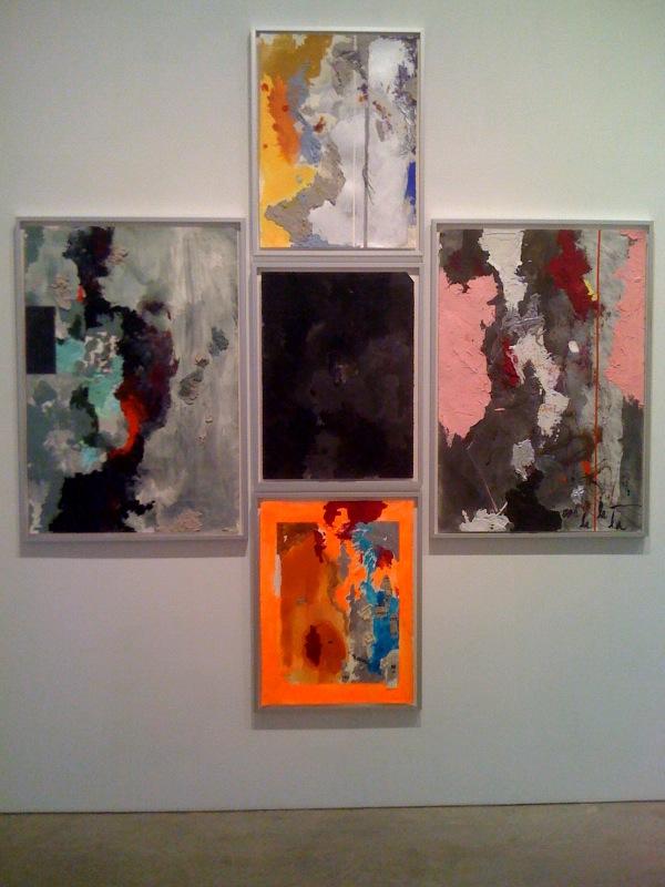 Kianja Strobert, Untitled x5, 2010