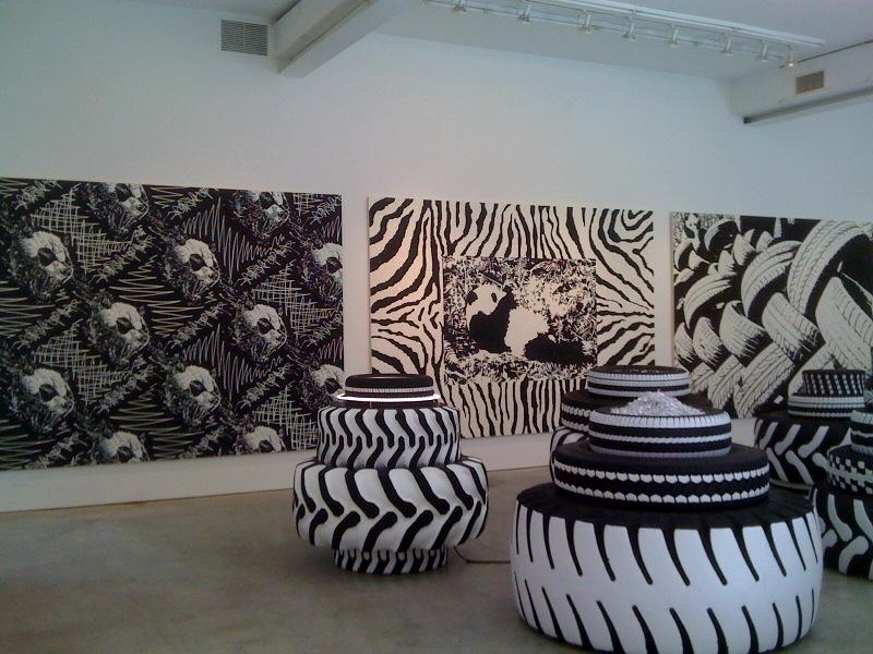 Panda Pattern_The Scream, Panda Pattern_Zebra, Panda Pattern_The Climb, 2010