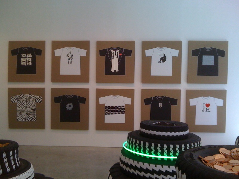 Rob Pruitt's T-Shirt Collection_Cheap Trick,Punk,I Love Jonathan Horowitz, 2010 People Feeders, 2010