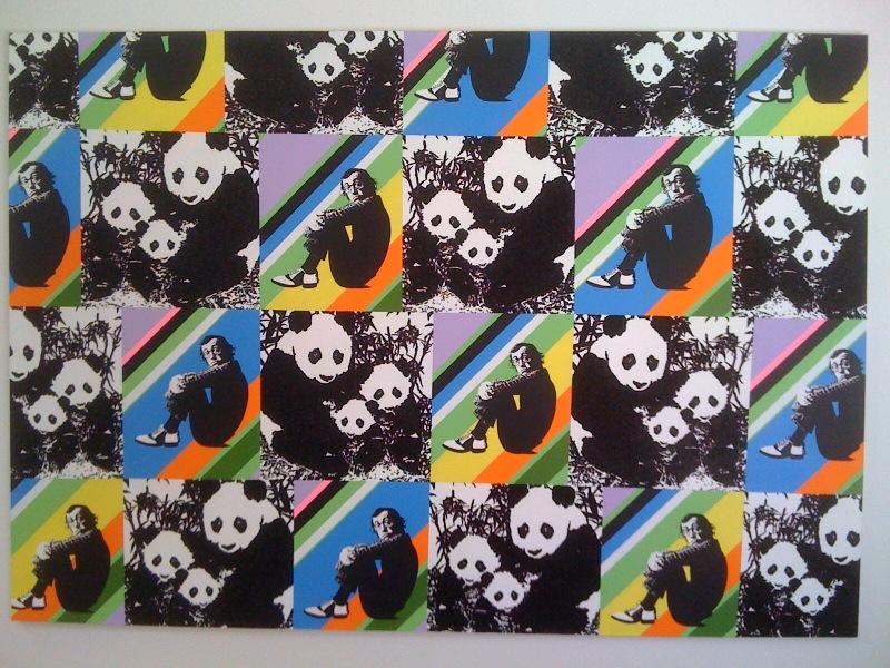 Panda Pattern_Woody Allen, 2010