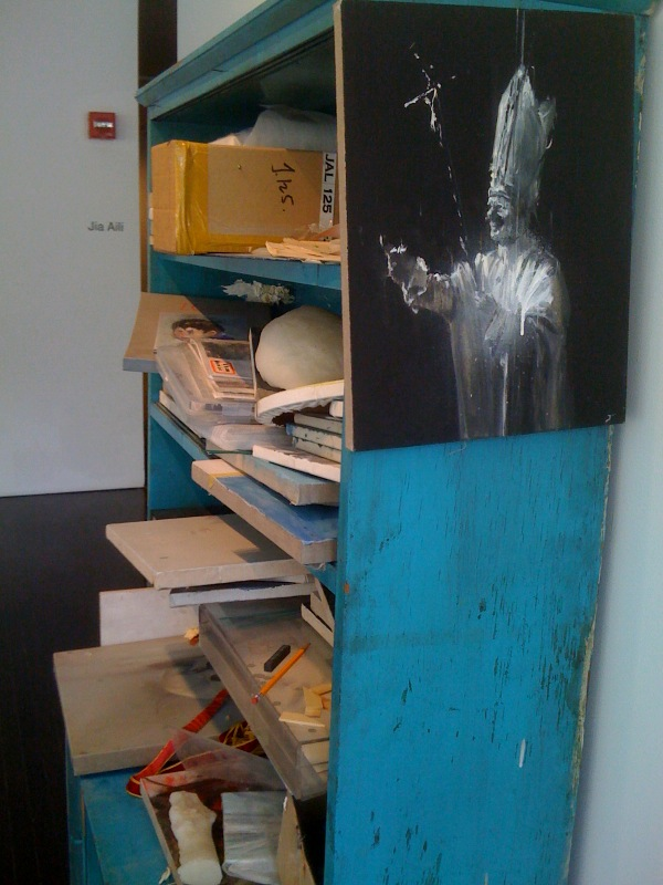 Jia Aili, Untitled 2007, bookcase, side