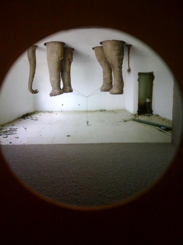 Gao Lei, A305, box interior, 2009