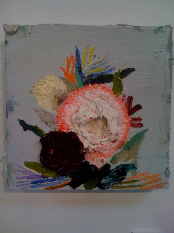 Allison Schulnik, Small Pink Flower, 2010