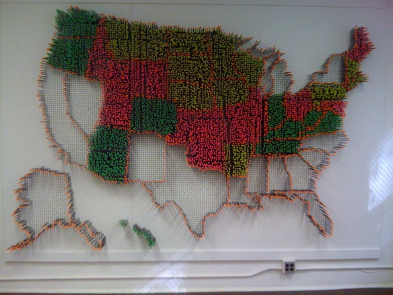 Michael Murphy, USA Pencil Install