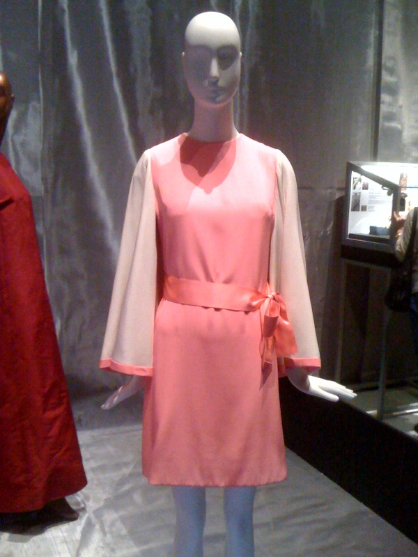 Sunny von Bulow, Christian Dior mini-dress, 1968