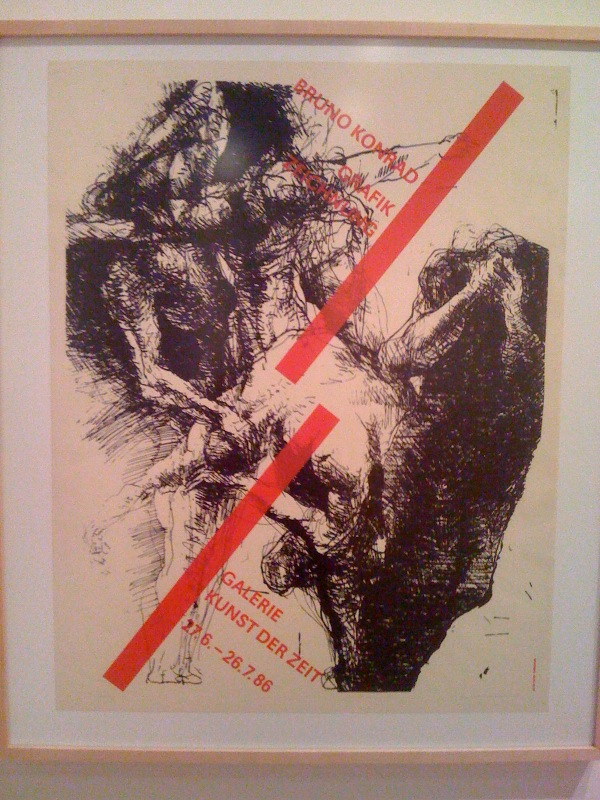 Bruno Konrad, Prints, Drawings, Galerie Kunst der Zeit, [Dresden], Jun27-Jul26, 1986, Silkscreen, 19:27