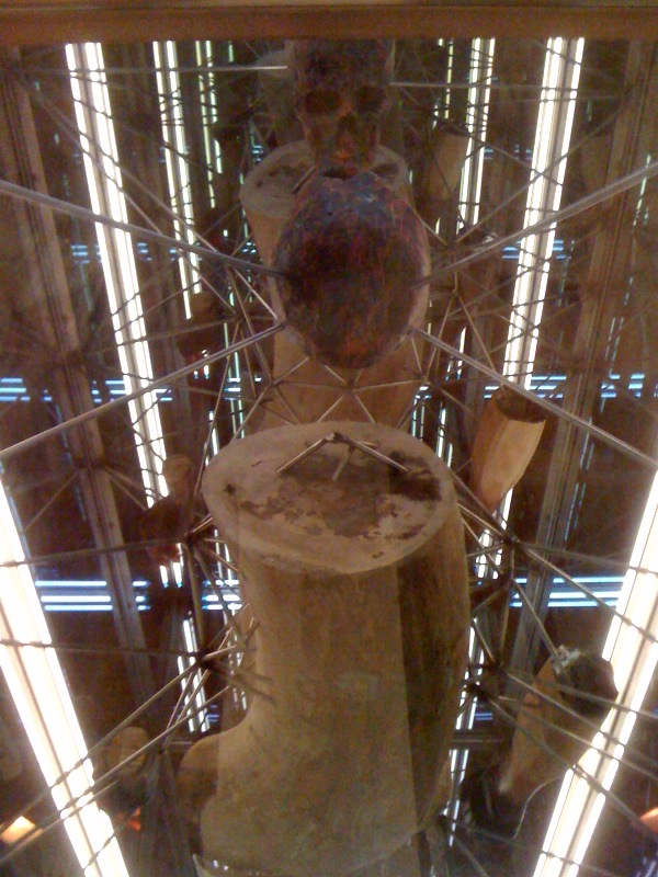 The Tomb, skeleton, 2010