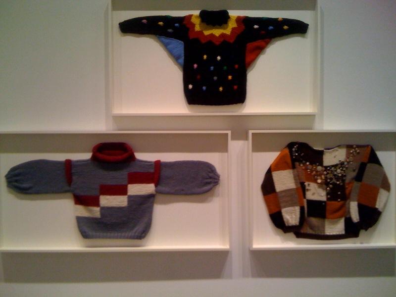 Sweater 1 (Klaun), Sweater 2 (Ela), Sweater 3 (Chess Player 1), 2010