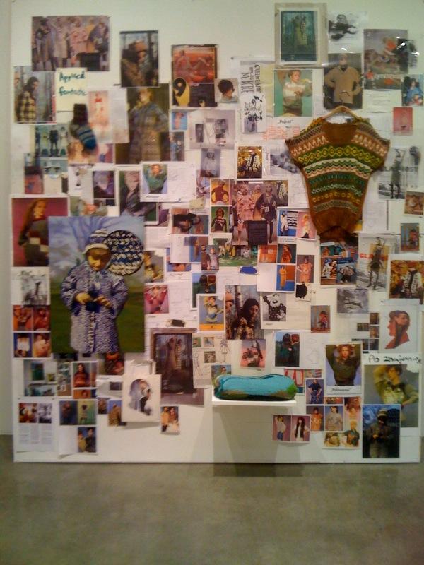 Inspiration wall, 2010