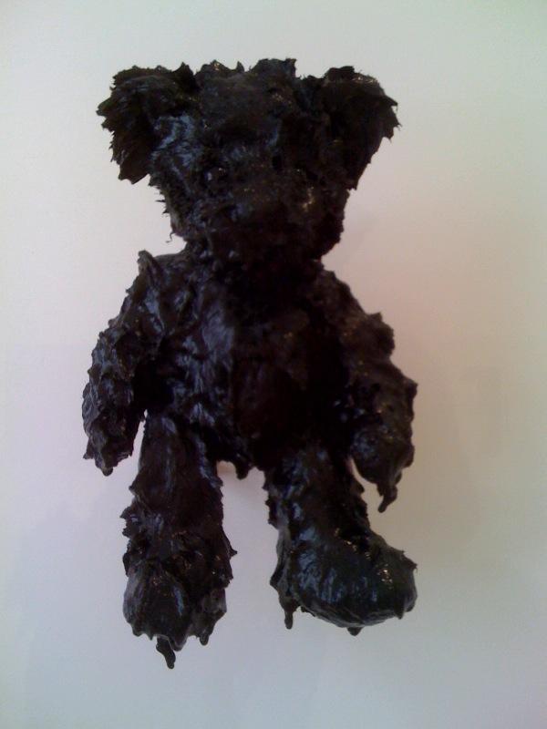 Shiney Black Teddy
