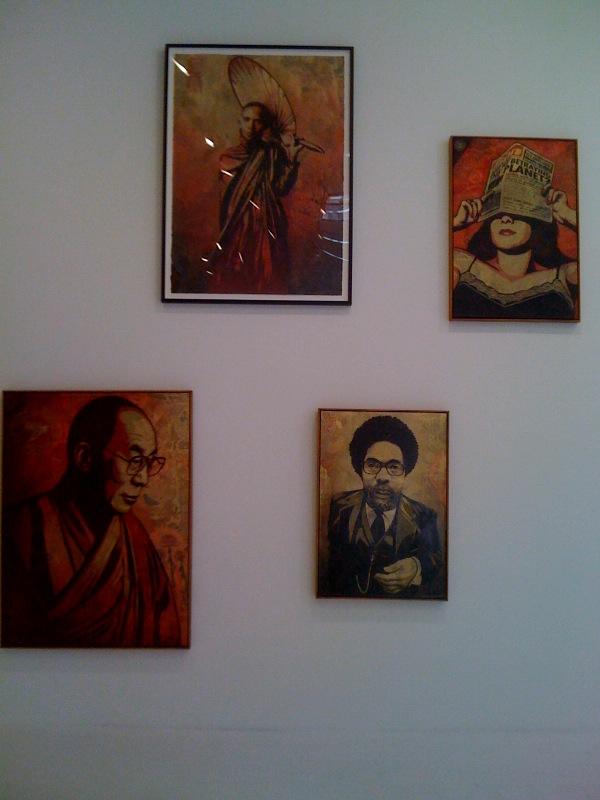 Dalai Lama, Cornel West
