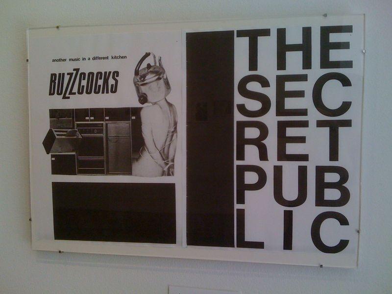 Secret Public p. 12 (back cover), Another Music in A Different Kitchen:The Secret Public, Linder Sterling, Jan 1978
