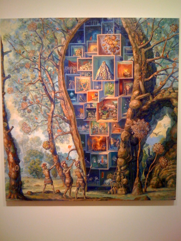 Self Portrait as Tree House, 2010