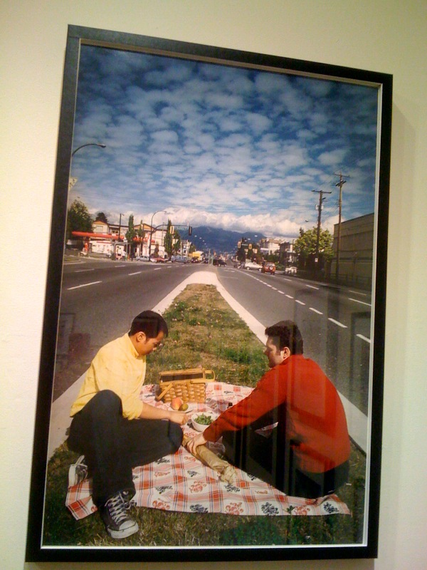 Jade Yumang, Picnic on a Bit of Grass, 2005