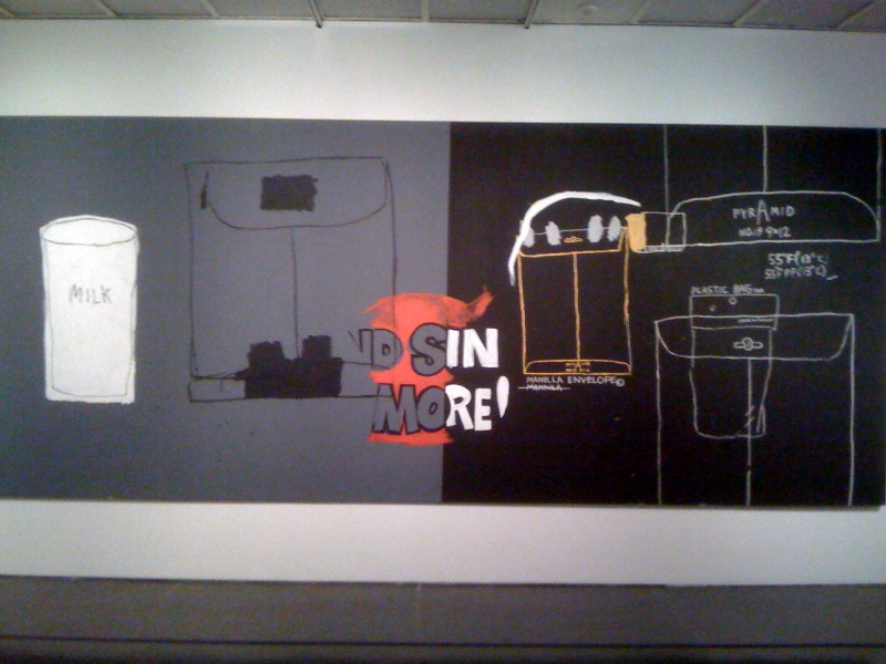 Warhol and Basquiat, Sin More (Pecca di piu), 1985