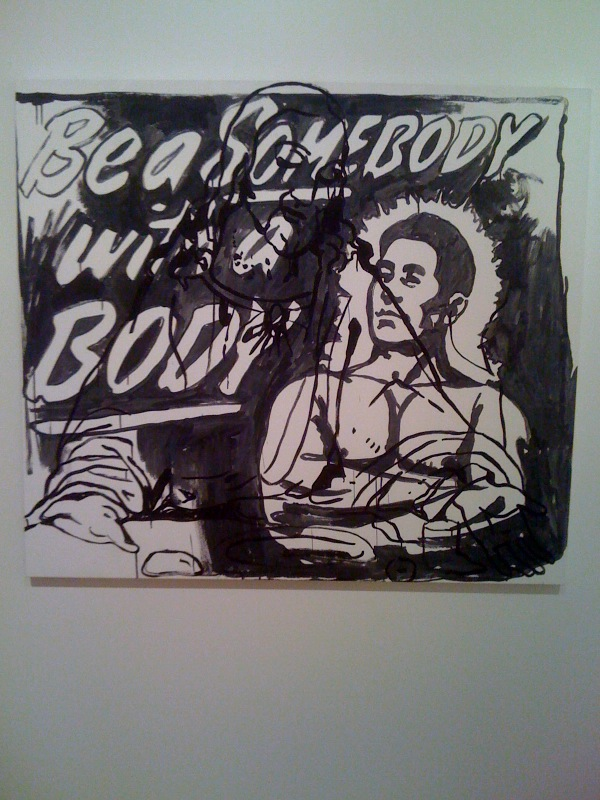 The Last Supper (Be a Somebody with a Body), 1985-6