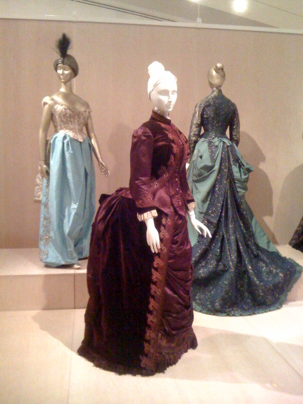 Worth_Fancy Costume Dress, 1870, Reception Dress, 1885, Afternoon Dress, 1875