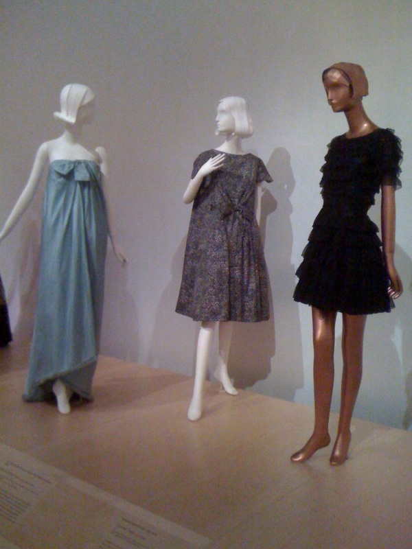 French Couture 1946-70_ Givenchy, 1960, YSL, 1958, Chanel, 1965