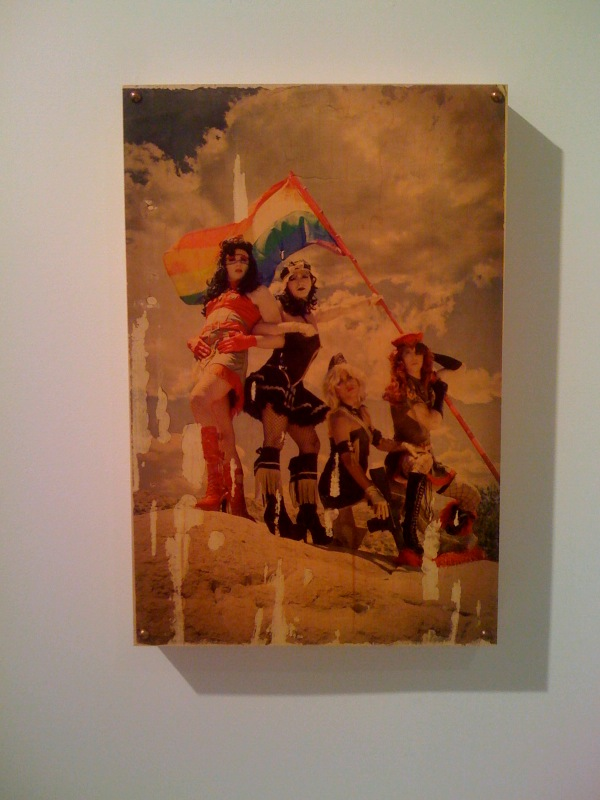 Chase Koopersmith, Hush Hush, 2010, Inspired by Joe Rosenthal, Raising the Flag on Iwo Jima, 1945