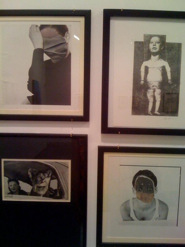 Gee Vaucher, Faces 1-3, Animal Rites 1, 2010
