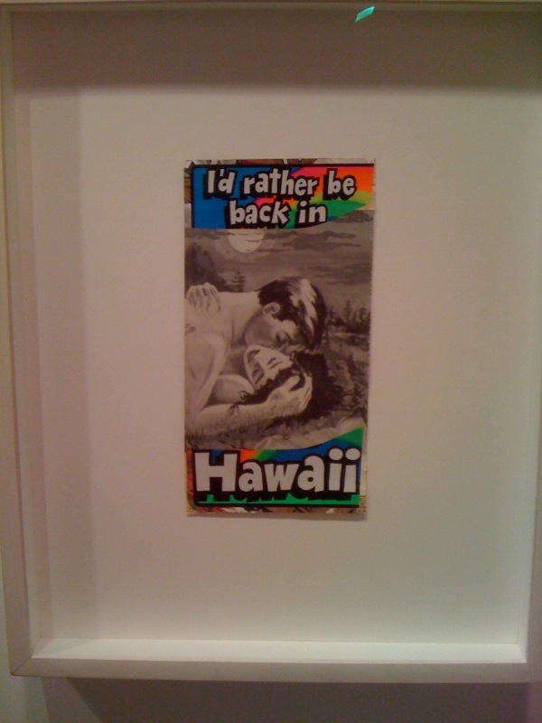 Dash Snow, I'd Rather Be Back in Hawaii, 2006-7