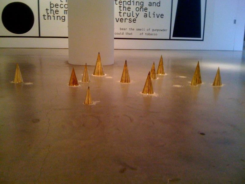 Wolfgang Laib, Rice Meals, 1988, Daniel Joseph Martinez, The despair of imagination, 2010