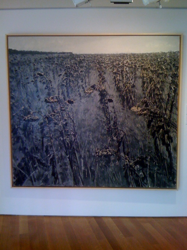 Xu Jiang, Twelve Views of a Sunflower Field II, 2005