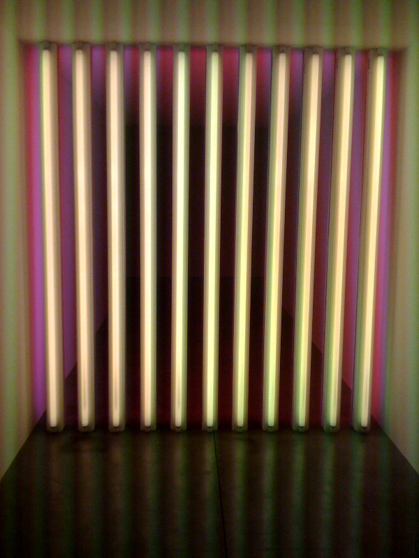 Untitled (to Barry, Mike, Chuck and Leonard), 1972-1975, pink side