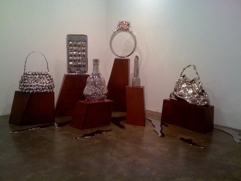 Rose Bag RF, Hiphone, Henice XO, Fake Ring Pink Iceberg, Lipstick, 2010, Fake Bag YB, 2009