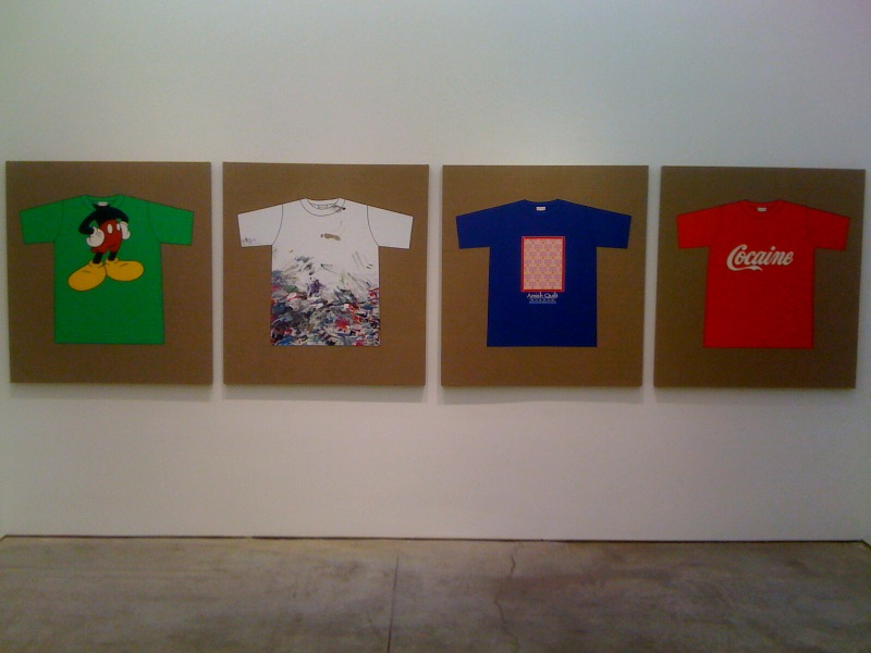 Rob Pruitt's T-Shirt Collection_You Are Mickey,_,_,Cocaine, 2010