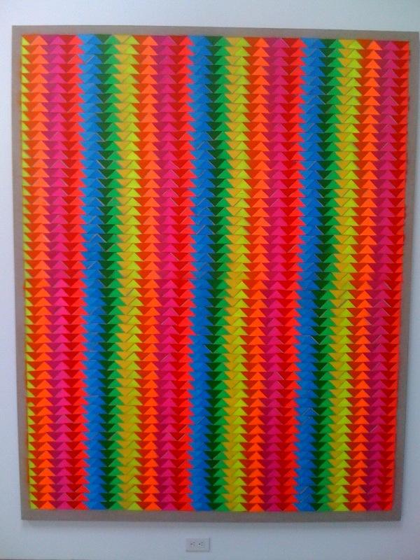 Rumspringa Quilt_Double Double Rainbow, 2010