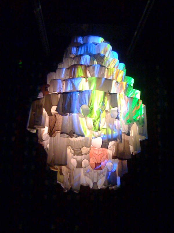 Massachusetts Chandelier, 2010, 6