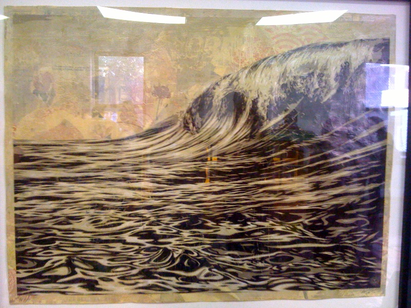 Shepard Fairey, Dark Wave, 2010