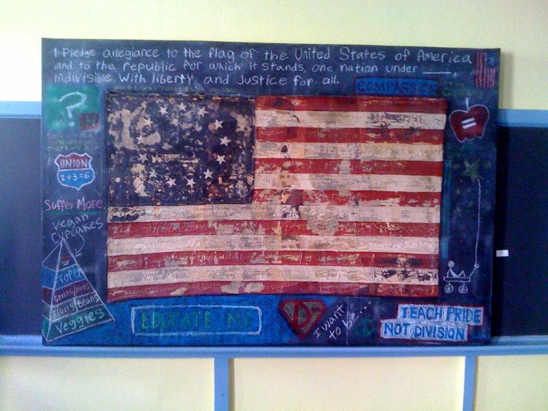 Scotlund Haisey, Teach Pride not Division, 2010