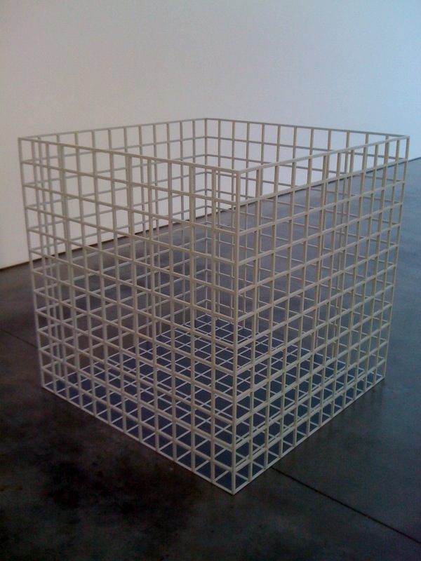 Sol LeWitt, Three Dimension Modular Grid [Structure A5], 1968