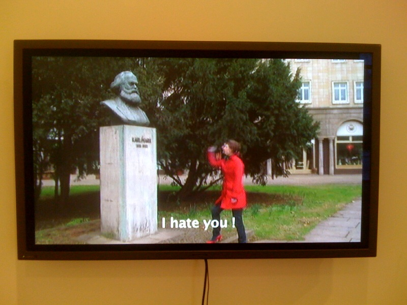 Rainer Ganahl, I Hate Karl Marx, 2010