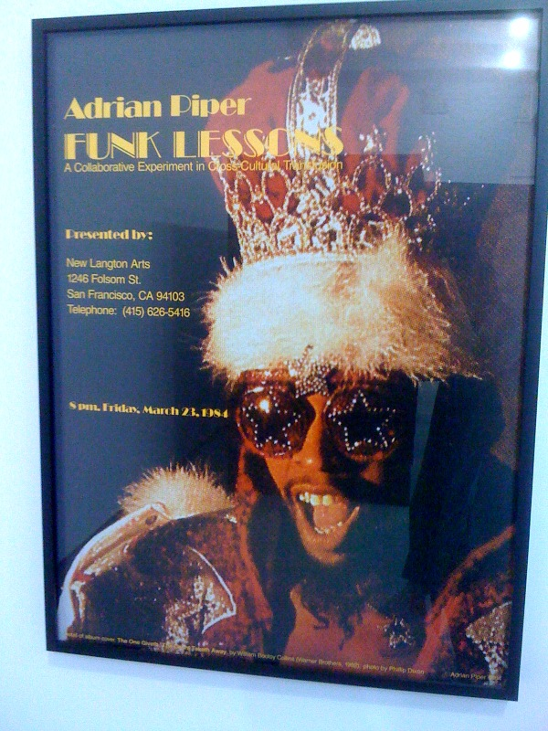 Funk Lessons poster, 1984