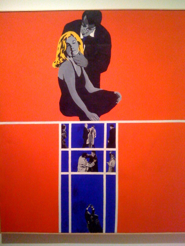 Rosalyn Drexler, Love and Violence, 1963