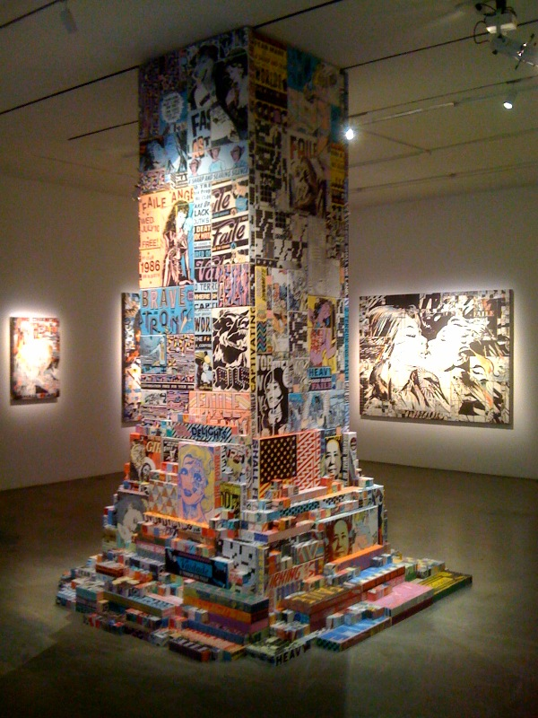 Faile Tower, 2010, Our Romance, right, 2010