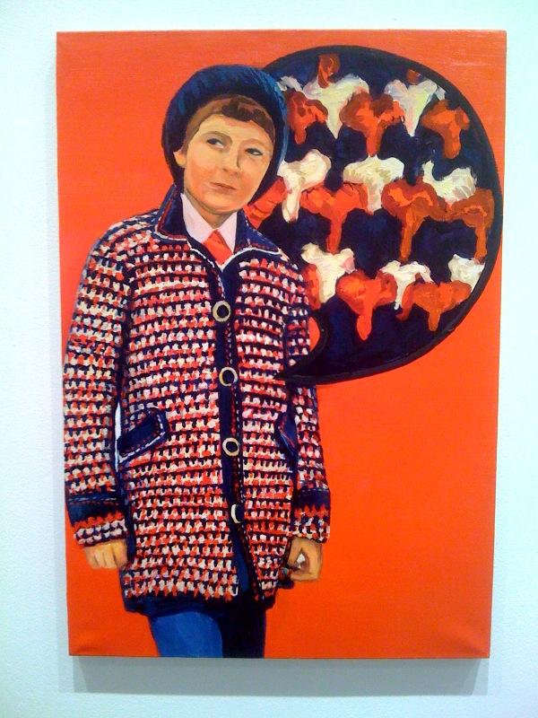 Crochet coat, 2010