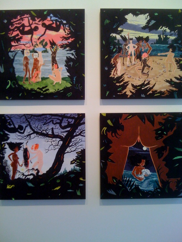 Clockwise from top left_Les Demoiselles d'Brooklyn, Rite, Diana's Midnight, Hunter Gatherer, 2010