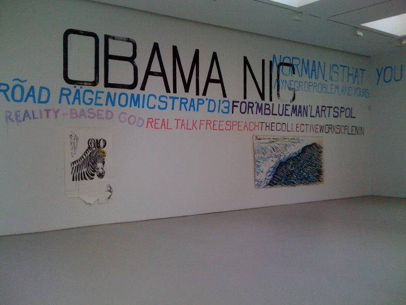 No Title (Zebra), No Title (Manhattan rising advancing...), 2010